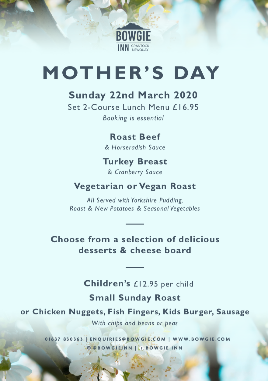 Mother's Day at The Bowgie