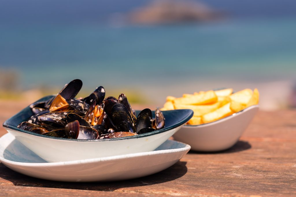 Bowl of Mussels at The Bowgie