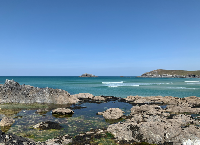 View of the sea at Crantock