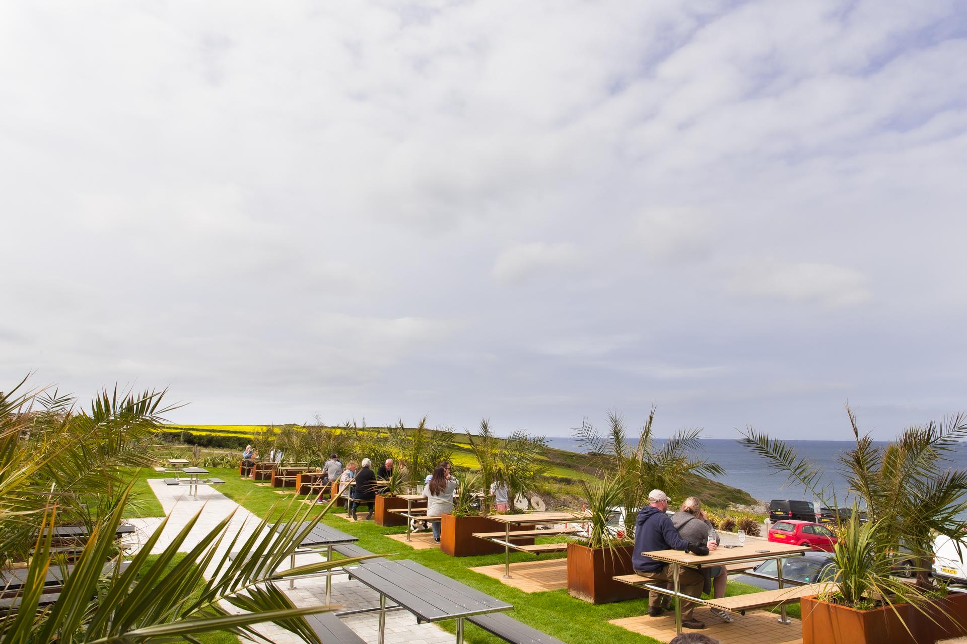 The Bowgie beer garden
