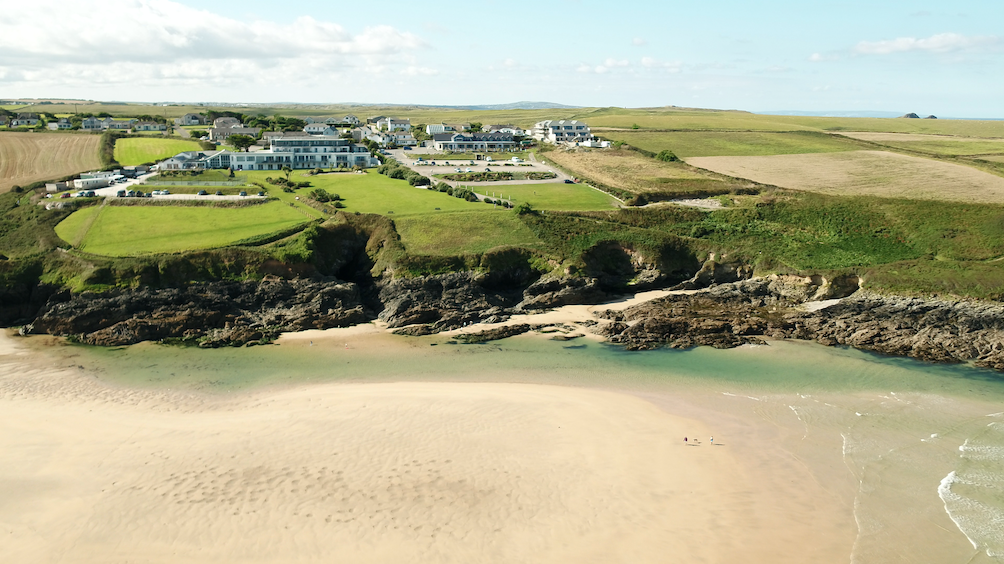 The Bowgie on West Pentire Headland